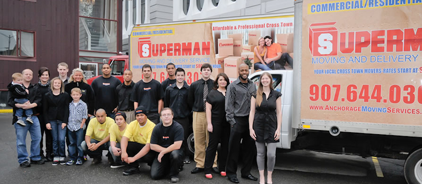 Superman Moving and Storage Service Anchorage AK