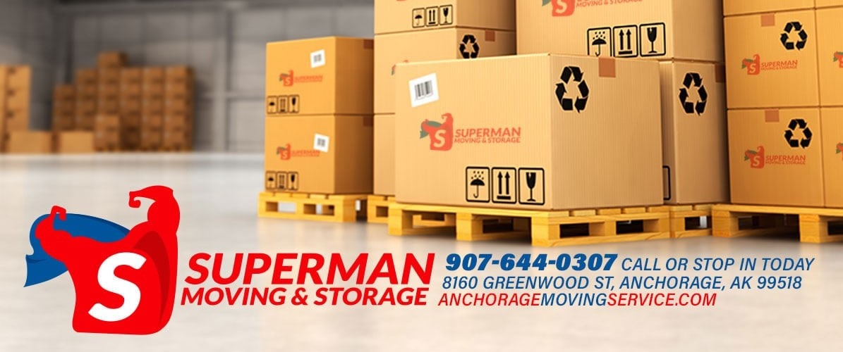 Superman Moving and Storage Storage Services Anchorage Alaska