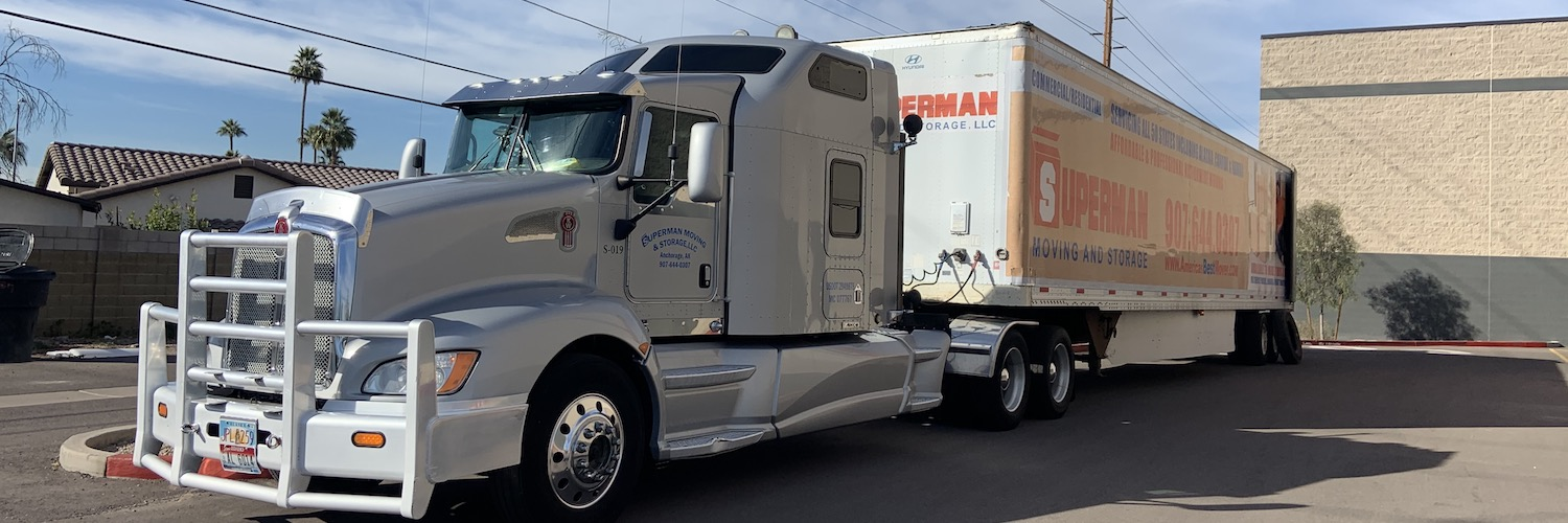 Superman Moving and Storage Trucking Services