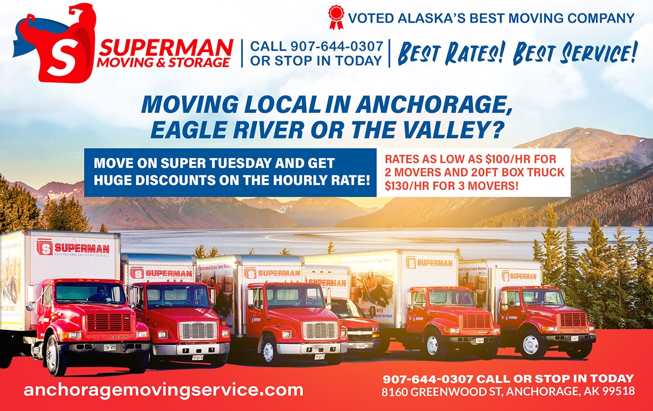 Anchorage AK Eagle River or Valley Moving Services